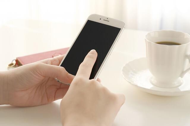 携帯の写真を見せてもらう